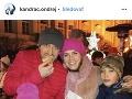 Ondrej Kandráč so svojou rodinou.