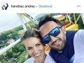 Ondrej Kandráč s manželkou.