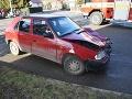 FOTO dramatickej nehody v Hnúšti: Opitý vodič (29) si to namieril do hasičského auta