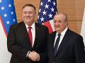 Pompeo zakončil v Uzbekistane svoju cestu: Chce naďalej rozvíjať bilaterálne vzťahy