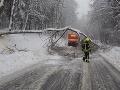 Búrka Petra zabíjala: V Česku spadol strom na auto, v Rakúsku strhla muža rozvodnená rieka