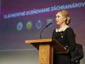 VIDEO Saková ocenila záchranárov: Verím, že rok 2020 bude z pohľadu množstva tragédií milosrdnejší