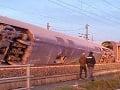 Vlakové nešťastie v Taliansku: FOTO Po vykoľajení superrýchlika hlásia mŕtvych a zranených