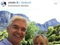 Phillip Schofield s manželkou Stephanie.
