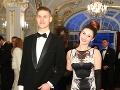 Dcéra moderátorky Ivety Malachovskej, Kristína, s manželom Adamom.
