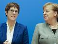 Predpokladaná nástupkyňa Merkelovej odstúpi z čela CDU, dôvodom je volebné fiasko