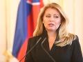 VOĽBY 2020 Prezidentka vyzýva Slovákov v zahraničí, aby využili všetky možnosti, ako voliť