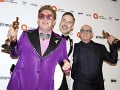 Elton John, David Furnish, a Bernie Taupin
