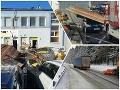 ONLINE Počasie pácha poriadne škody: FOTO Vietor strhol strechu, strom spadol na idúce vozidlo