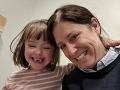 Maggie Gainesová s dcérkou Margot