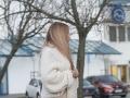 Erike Judínyovej sa už jasne črtá tehotenské bruško.