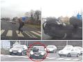 Brutálna zrážka na priechode: VIDEO Auto predchádzalo a nabralo školáka, náraz mu až vyzul topánky