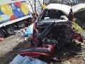 Tragická dopravná nehoda na východe Slovenska: 36-ročný vodič nemal proti nákladiaku šancu