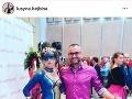 Lucia s manželom Ivanom na Bodyartshow