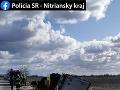 Tragická dopravná nehoda v okrese Komárno