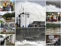 Búrka Dennis pácha veľké škody: VIDEO V Británii zrušili stovky letov, vláda vyslala na pomoc armádu