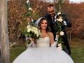 Svadobná fotka Lucie a Ivana