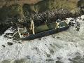 Víchrica Dennis vyplavila v Írsku loď duchov: VIDEO Bermudy aj únos... Zvedavci vo vytržení!