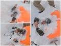 Hrdinské VIDEO z lyžiarskeho