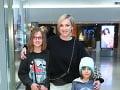 Herečka Monika Hilmerová s dcérkou Zarou a synom Leonardom.
