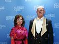 Členovia veľkej poroty Krištáľového krídla Mária Vaškovičová a Gabriel Csollár.