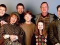 Julie Walters ako súčasť rodiny Weasleyovcov