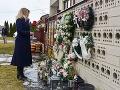 Prezidentka Zuzana Čaputová si v deň druhého výročia vraždy novinára Jána Kuciaka a jeho snúbenice Martiny Kušnírovej uctila ich pamiatku vo Veľkej Mači