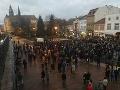 Spomienková akcia v Košiciach.