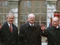 George Bush a Vladimir Putin sa pred 15 rokmi stretli v Bratislave