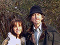 George Harrison s druhou manželkou Oliviou