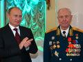 Vladimir Putin (vľavo) a