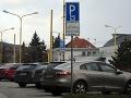 Parkovanie v Košiciach.