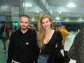 Youtuber Matej Zrebný s priateľkou moderátorkou Erikou Bugárovou.
