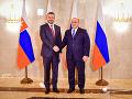 Pellegrini na návšteve v Moskve: Vyžaduje si ešte opateru lekárov, Rusku prináša nový návrh