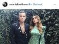 Robbie Williams s manželkou Aydou.