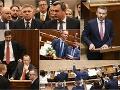 Posledná mimoriadna schôdza: Nechýbali silné emócie! Koalícia pretlačila 13. dôchodok, opozícia pod veľkým tlakom