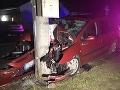 Tragická havária na východe: FOTO Spolujazdkyňa (†57) neprežila prevoz do nemocnice
