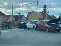 Dopravná nehoda v Bratislave