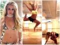 Britney Spears si zlomila