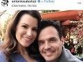 Antonio Sabato Jr. so svojou partnerkou.