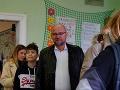 Richar Sulík prišiel voliť