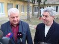 Árpád Érsek a Béla Bugár po volebnom akte