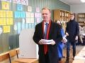 Aj Miroslav Beblavý prišiel k volebným urnám