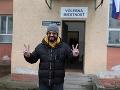 Marián Čekovský si zmýlil volebnú miestnosť