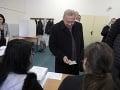 VOĽBY 2020 V Košiciach odvolil aj exprezident Rudolf Schuster