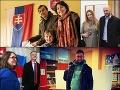 VOĽBY 2020 Členovia PS/SPOLU odvolili: FOTO Nechýbali motýle v bruchu ani trapas pani Beblavej