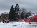 Vážna dopravná nehoda pri Zuberci: Zranili sa dve malé dievčatá, prevážal ich vrtuľník