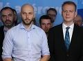 VIDEO Prvá tlačovka PS/SPOLU po volebnom neúspechu! Beblavý a Truban končia