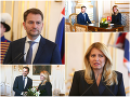 ONLINE Koaličné rokovania napredujú: VIDEO Matovič u Čaputovej v paláci, obaja v dobrej nálade!
