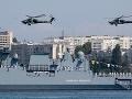 Do Stredomoria vplávala ďalšia ruská vojenská loď Novočerkassk